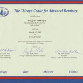 Stogina The Chicago Center for Advanced Dentistry 2005