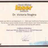 Stogina World Clinical Laser Institute 2014